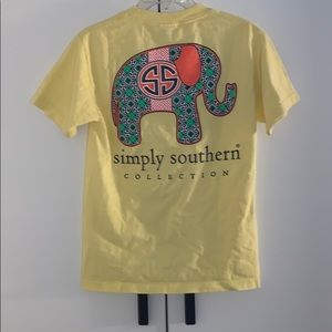 Simply Souther Elephant Tee